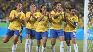 Seleção feminina nas Olimpíadas Rio 2016 / Foto: Getty imagens