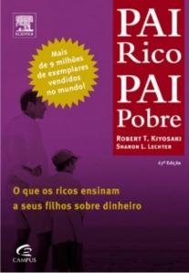 Foto: Capa do livro Pai rico, Pai pobre.