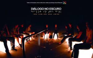 Foto Divulgação: Diálogo no Escuro