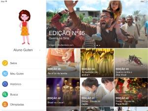 Games e noticias auxiliam nos estudos e na melhoria da leitura / Foto: Guten News