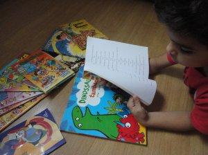 Com o auxilio da literatura, o aprendizado fica mais lúdico e dinâmico / Foto: Erica Lima