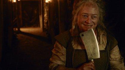 A açougueira, interpretada por Kathy Bates / Foto: Google Imagens.