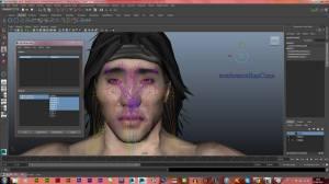 Legenda: Lucas Lima criando o personagem Liu Kang para um novo jogo / Foto: Lucas Lima