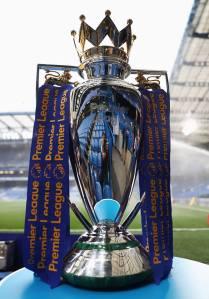 O troféu da Premier League