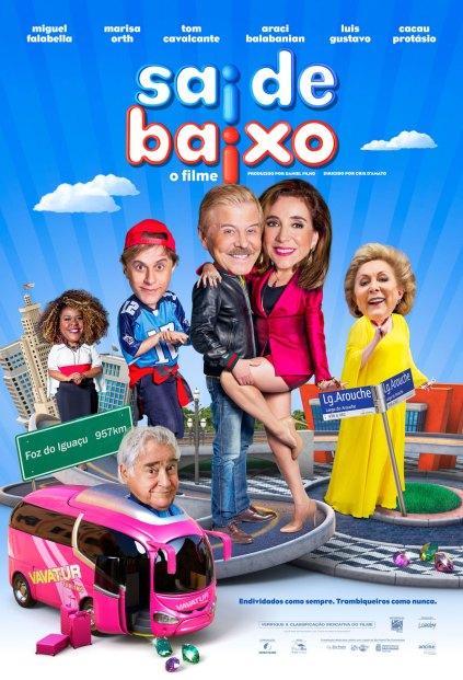 Poster oficial Sai de Baixo
