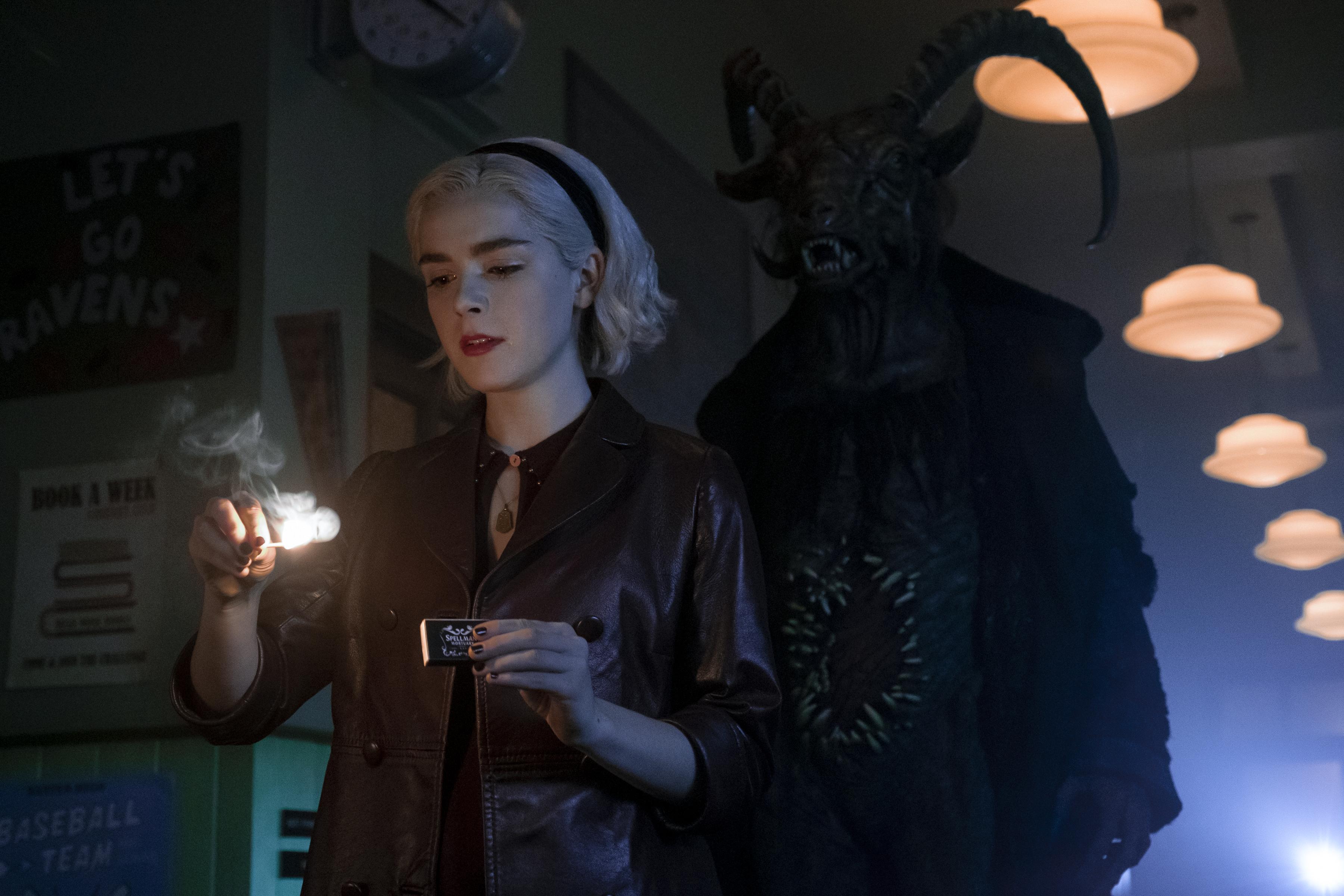 O Mundo Sombrio de Sabrina -Parte 2