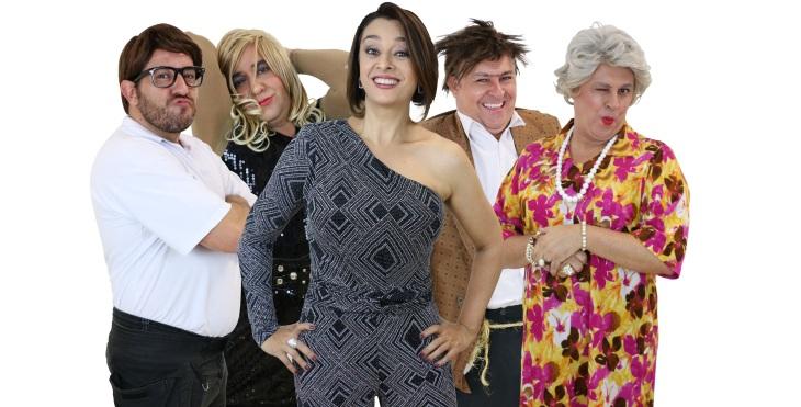 Catia Fonseca no Teatro Gazeta